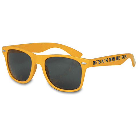 Team Team Team Malibu Sunglasses - Maize