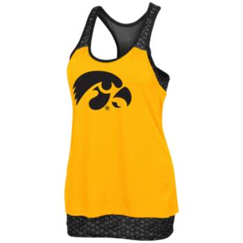 Iowa Scaled Tank - Gold/Black
