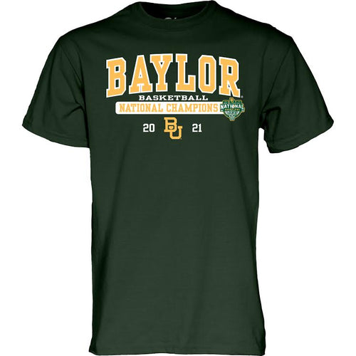 Baylor Bears Basketball 2021 National Champs CHARLIE T-Shirt - Forest
