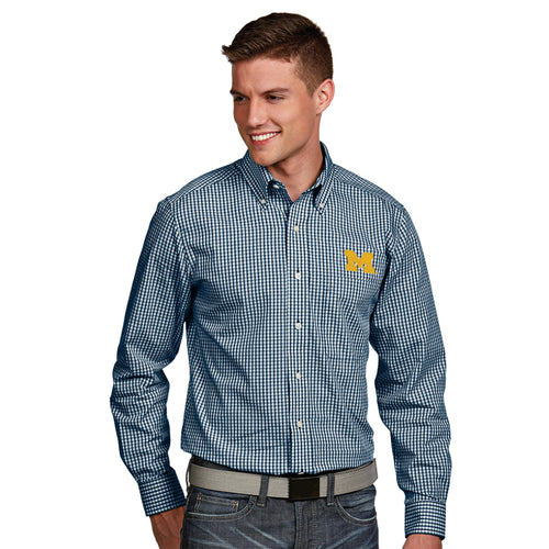Block M Antigua Associate Button Down - Blue