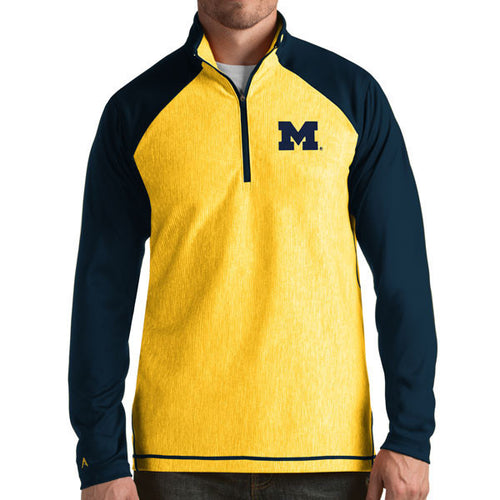 Block M Antigua Playmaker 1/4 Zip - Yellow