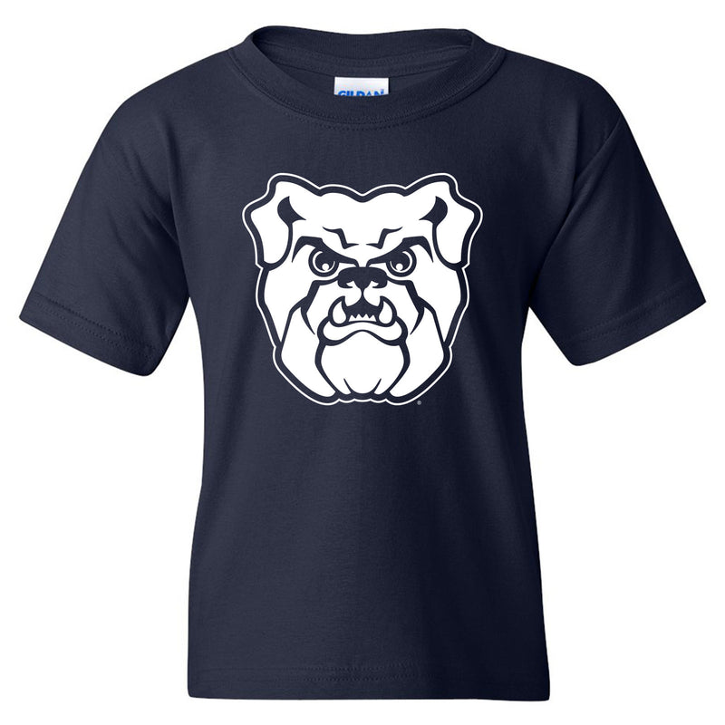 Butler University Bulldog Logo Youth Short Sleeve T Shirt - Navy