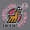 UGP Classics: Michigan Stags - Athletic Grey