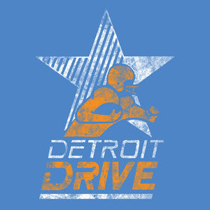 Detroit Drive - AFL - Athletic Blue