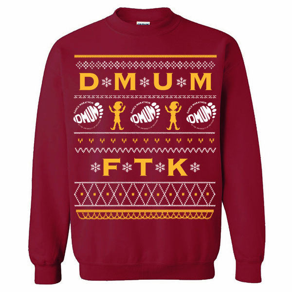 DMUM Ugly Sweater - Garnet