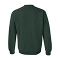 Michigan State University Spartans Modern Outline Crewneck Sweatshirt - Forest