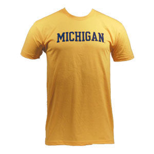 Block Michigan Amerian Apparel - Heather Gold