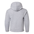 Basic Block University of Michigan Youth Basic Cotton Hoodie - Sport Grey