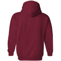 Indiana University Hoosiers Retro Underline Heavy Blend Hoodie - Cardinal