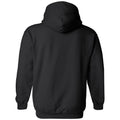University of Iowa Athletic Arch Logo Hawkeyes Heavy Blend Hooded Sweatshirt - Black