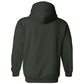 Michigan State University Spartans Mesh Arch Hoodie - Forest