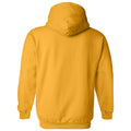 Lipscomb University Bisons Basic Block Heavy Blend Hoodie - Gold