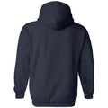 Wingate University Bulldogs Primary Logo Heavy Blend Hoodie - Navy