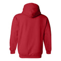 Bradley University Braves Arch Logo Heavy Blend Hoodie  - Red