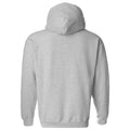 Throwback Year Stripe Old Dominion Monarchs Heavy Blend Hoodie - Sport Grey