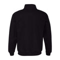 My Turn Nike Mens Quarter Zip - Black/Dark Grey