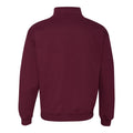 University of Chicago Maroons Wishbone C Quarter Zip - Maroon