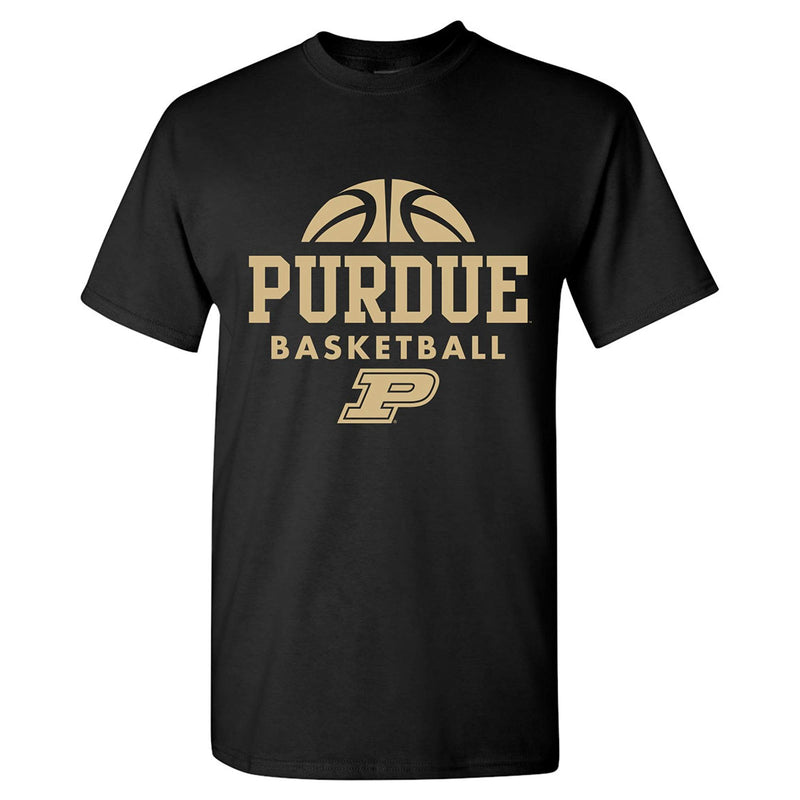 Purdue University Boilermakers Basketball Hype Short Sleeve T Shirt - Black