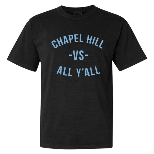 Chapel Hill Vs All Yall Comfort Colors T Shirt - Black