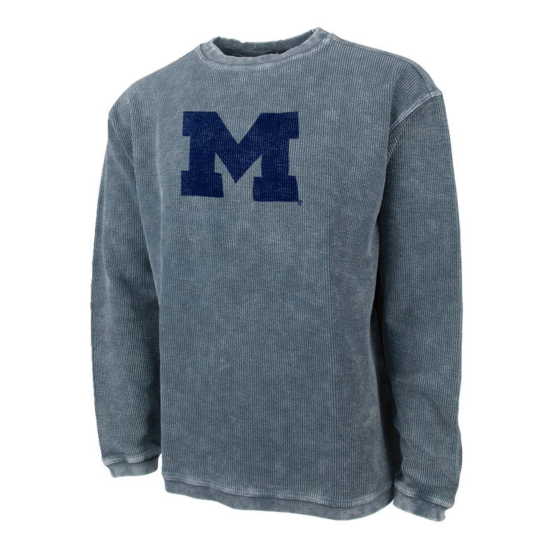 Block M Camden Crew Neck Sweatshirt - Denim