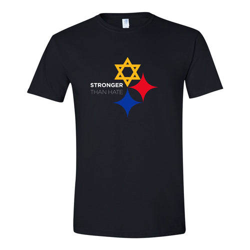 Stronger than Hate Tee - Black