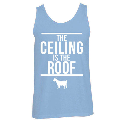 The Ceiling Is The Roof Tank - C Blue