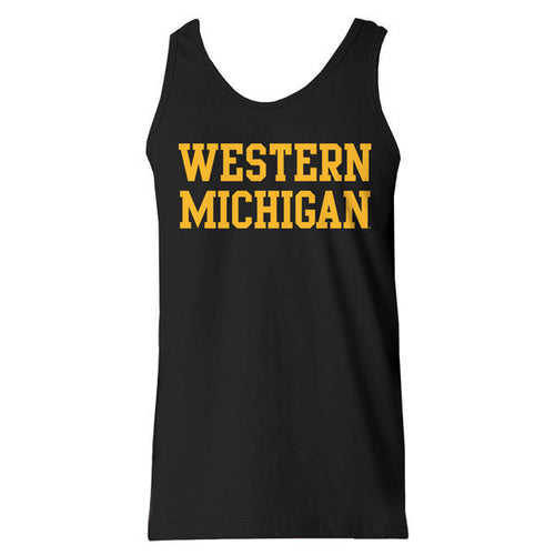 Western Michigan Basic Tank - Black