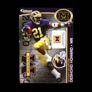 Desmond Howard Fathead - Maize & Blue