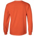 Campbell University Fighting Camels Arch Logo Basic Cotton Long Sleeve T-Shirt - Orange