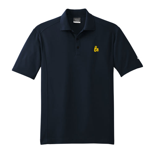 Bo Sig Nike Dri-FIT Classic Polo - Midnight Navy