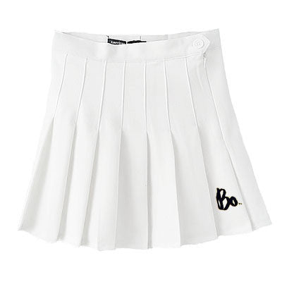 Bo Sig American Apparel Cheer Skirt - White