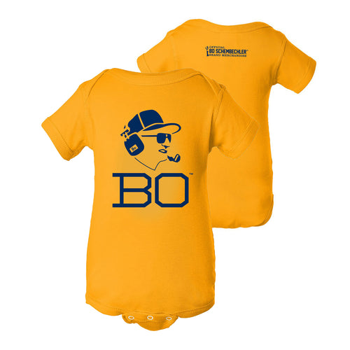 Bo Schembechler Headset Creeper - Gold