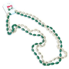 MSU Football Beaded Necklace Set