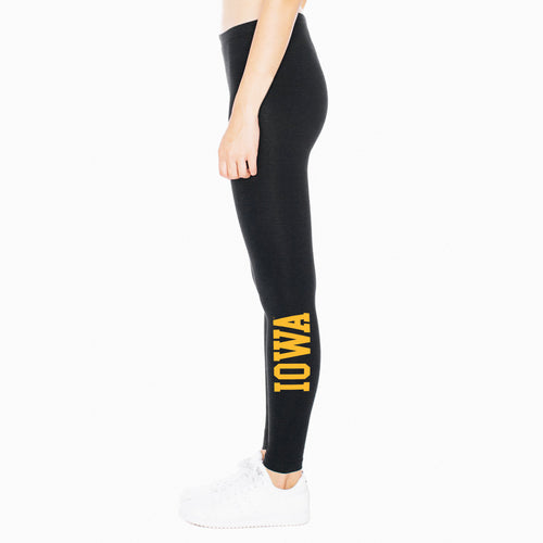Iowa Spandex Leggings - Black