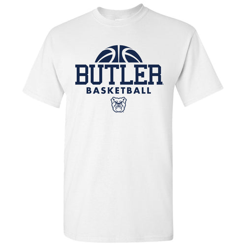 Butler University Bulldogs Basketball Hype Short Sleeve T Shirt - White