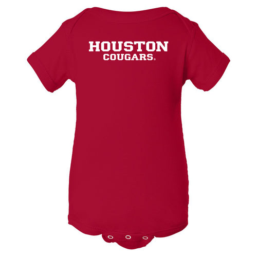Houston Cougars Basic Block Creeper - Red