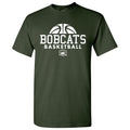 Ohio University Bobcats Basketball Hype Short Sleeve T Shirt - Forest