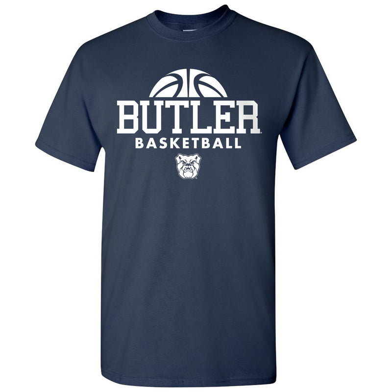 Butler University Bulldogs Basketball Hype Short Sleeve T Shirt - Navy
