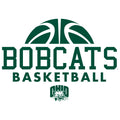 Ohio University Bobcats Basketball Hype Short Sleeve T Shirt - White
