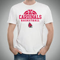 Ball State Basketball Hype T Shirt - White