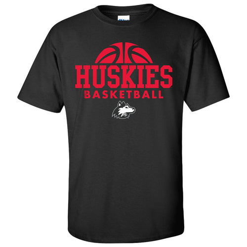Northern Illinois University Huskies Basketball Hype Short Sleeve T Shirt - Black
