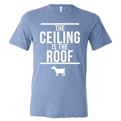 The Ceiling Is The Roof - Blue Triblend