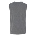 Block Indiana Jersey Muscle Tank - Deep Heather