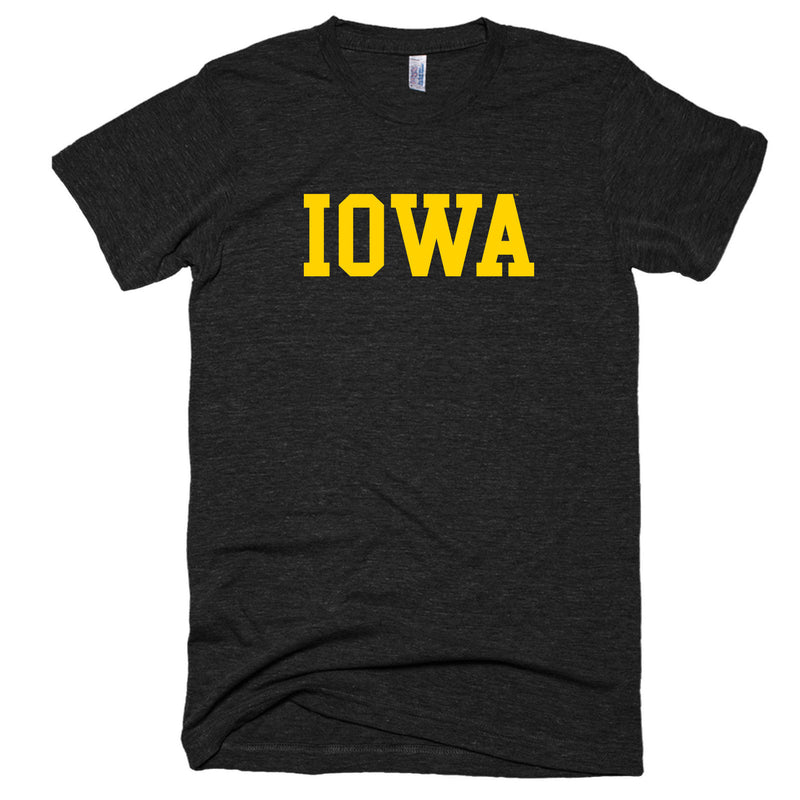 Block Iowa Triblend - Tri-Black