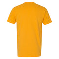 University of Iowa Hawkeyes Basic Block Next Level Premium Cotton Short Sleeve T Shirt - Gold