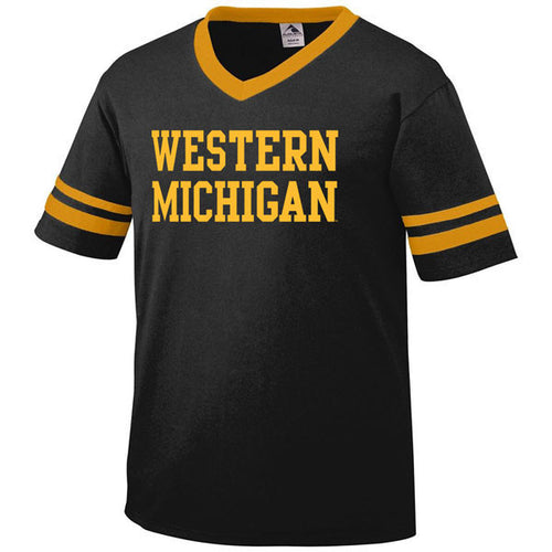 Western Michigan Sleeve Stripe - Black/Gold