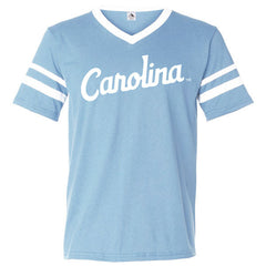 Carolina Script Sleeve Stripe 360 - Light Blue