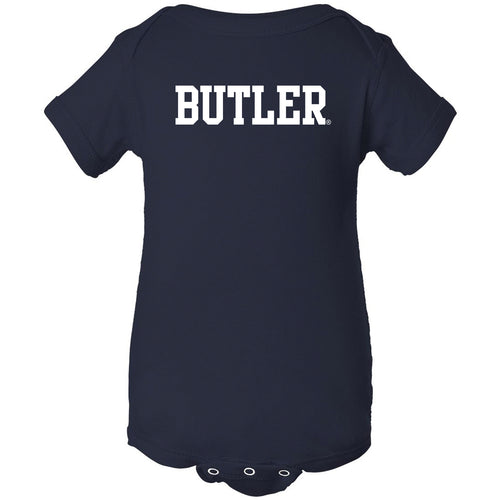 Butler University Bulldogs Basic Block Creeper - Navy