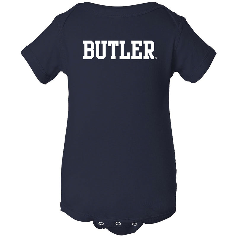 Butler Bulldogs Basic Block Creeper - Navy