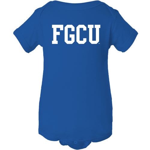 Florida Gulf Coast University Eagles Basic Block Creeper - Royal